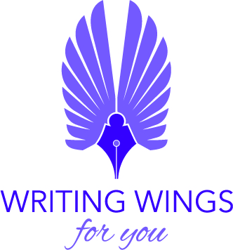 Writing Wings for You - My New Logo